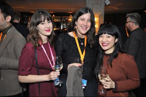 Lauren Valmadre, LevelK; Francesca Manno, Summerside International; Debra Liang, LevelK